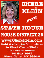 Chere Klein for State House - House District 36 - Ketchikan, Alaska