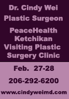 Dr. Cindy Wei, Plastic Surgeon - Visiting Plastic Surgery Clinic in Ketchikan