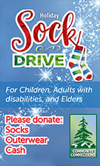 Community Connections - Ketchikan, Alaska - Holiday Sock Drive