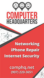 Computer Headquarters - Networking, iPhone Repair, Internet Security - Ketchikan, Alaska