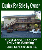 Ketchikan Duplex For Sale by Owner