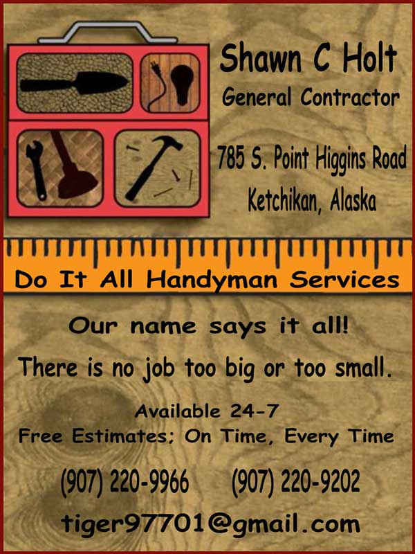 jpg Do It All Hanydman Services - Ketchikan, Alaska