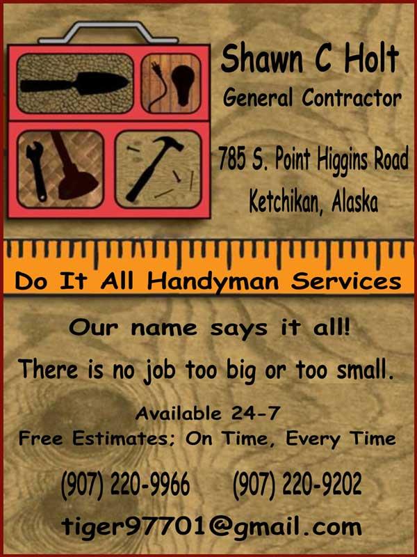 jpg Do It All Hanydman Services - Ketchikan, Alaska