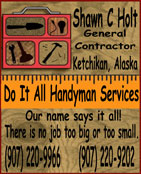 Do It All Handyman Services - Ketchikan, Alaska