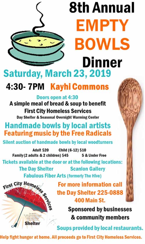 8th Annual Empty Bowls Dinner - Ketchikan, Alaska