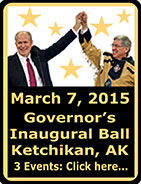 Governor's Inaugural Ball in Ketchikan, Alaska - March 7, 2015