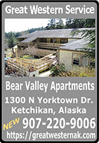Great Western Service - Residentail Property Rentals - Ketchikan, Alaska - Bear Valley Apartments