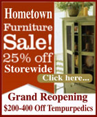 Hometown Furnishings Grand Re-opening Sale - Ketchikan, Alaska