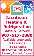 Jacobson Heating & Refrigeration - Sales & Service - Ketchikan, Alaska