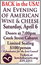 An Evening of Wine and Cheese - Ketchikan Area Arts & Humanities Council