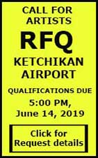 Call for Artists - RFQ Ketchikan Airport - Deadline 5PM, June 14, 2019