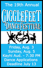 19th Annual Gigglefeet Dance Festival - Ketchikan, Alaska - KAAHC
