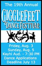 19th Annual Gigglefeet Dance Festival - Ketchikan, Alaska - KAAHC