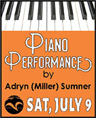 Piano Performance by Adryn (Miller) Sumner - Ketchikan Area Arts & Humanities Council
