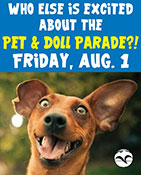 Pet & Doll Parade, Friday, August 1, 2014 - Ketchikan Area Arts & Humanities Council - Ketchikan, Alaska