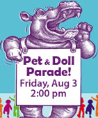 Blueberry Arts Festival - Pet & Doll Parade - Ketchikan, Alaska