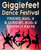 Gigglefeet Dance Festival - Ketchikan, Alaska - Fist City Players - Click to purchase tickets
