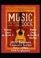 Ketchikan Area Arts & Humanities Council - Music on the Dock 2021