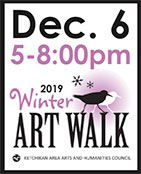 2019 Winter Art Walk - Ketchikan Area Arts & Humanities Council - Ketchikan, Alaska