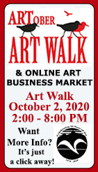 ARTober Art Walk 2020 - Ketchikan Arra Arts & Humanities Council - Ketchikan, Alaska