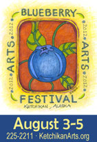 Ketchikan Area Arts & Hummanities Council - Blueberry Arts Festival