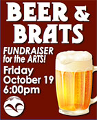 Fundraiser fot the Arts - Beer & Brats - Ketchikan Area Arts & Humanities Council
