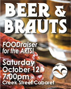 Beer & Brauts FOODraiser Ketchikan Arts & Humanities Council