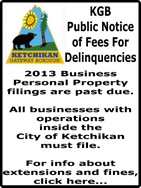 Ketchikan Borough Public Notice of Fees For Delinquencies