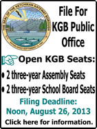 File For KGB Public Office - Ketchikan, Alaska