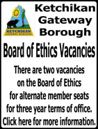 Ketchikan Gateway Borough Board of Ethics Vacancies