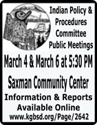KGBSD - Indian Policy & Procedures Comittee Public Meetings - Ketchikan, Alaska