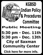 Ketchikan Gateway Borough School District Indian Policy & Procedures Committee