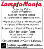 LumpiaMania - Ketchikan General Hospital