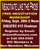 Free Negotiation Workshop - Ketchikan, Alaska
