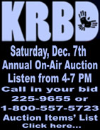 KRBD Annual On-Air Auction - Ketchikan, Alaska