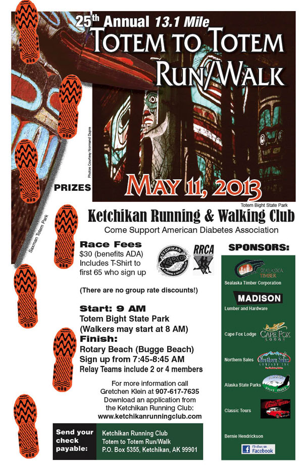 jpg 25th Annual 13.1 Mile Totem to Totem Run/Walk - Ketchikan, Alaska