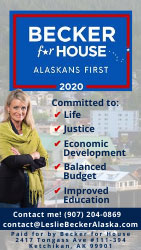Leslie Becker for Alaska State House - District 36 -  2020