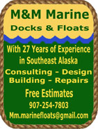 M&amp;M Marine - Docks &amp; Floats - Ketchikan, Alaska