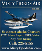 Misty Fjords Air - Southeast Alaska Charters