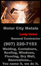 Motor City Metals - Ketchikan, Alaska: Welding, Renovations, Windows, Flooring & more....