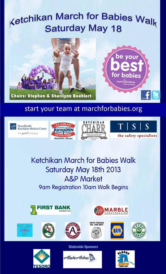 Ketchikan March for Babies Walk - Ketchikan, Alaska