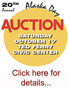 20th Annual Alaska Day Auction - October 07, 2015 - Ketchikan, Alaska
