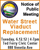 Notice of Public Meeting - Water Street Viaduct Replacement - Ketchikan, Alaska