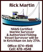 Rick Martin, NAMS Certified Mariene Surveyor