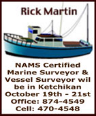 Rick Martin, Marine Surveyor