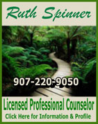 Ruth Spinner, Licensed Professional Counselor - Ketchikan, Alaska