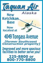 Taquan Air Ketchikan, Alaksa