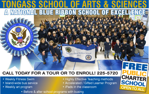 Tongass School of Arts & Sciences - Ketchikan, Alaska - Enrollment