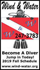 Wind & Water - Become A Diver - 2019 Fall Schedule - Ketchikan, Alaska