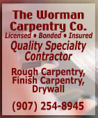 The Worman Carpentry Company - Ketchikan, Alaska